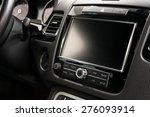 modern car dashboard. screen... | Shutterstock . vector #276093914