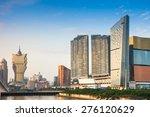 macau landscape downtown | Shutterstock . vector #276120629