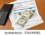 medical bill from the hospital  ... | Shutterstock . vector #276144581