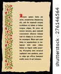 template book page in a... | Shutterstock .eps vector #276146564