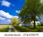 countryside old cottage with... | Shutterstock . vector #276155075