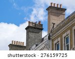 ancient chimneys pot in...