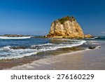beautiful paradisiac landscape...   Shutterstock . vector #276160229
