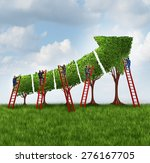 people group investing and... | Shutterstock . vector #276167705