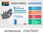 south africa infographics ... | Shutterstock .eps vector #276170207