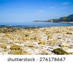 Beach Near White Cliffs ...