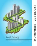 real estate | Shutterstock .eps vector #276187367