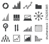 data icon set | Shutterstock .eps vector #276205385