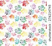 crazy beautiful imprint... | Shutterstock .eps vector #276214745