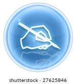email icon ice  isolated on... | Shutterstock . vector #27625846