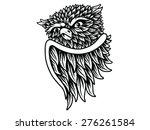 owl damn icon | Shutterstock .eps vector #276261584