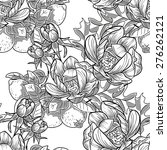 abstract elegance seamless... | Shutterstock . vector #276262121