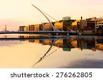 The Samuel Beckett Bridge On...