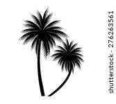 palm trees vector | Shutterstock .eps vector #276263561