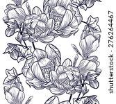 abstract elegance seamless... | Shutterstock . vector #276264467