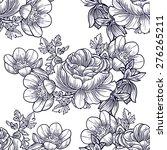 abstract elegance seamless... | Shutterstock . vector #276265211