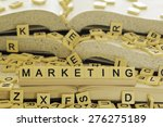 marketing | Shutterstock . vector #276275189