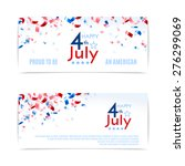 4th of july  american...   Shutterstock .eps vector #276299069