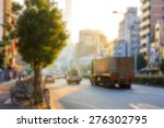 Background Of City Road In The...