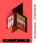 creative flyer  magazine cover  ... | Shutterstock .eps vector #276305639