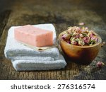 White Spa Towels And Natural...