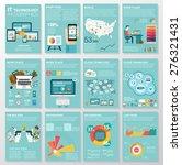 big set of infographics... | Shutterstock .eps vector #276321431