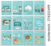 big set of infographics... | Shutterstock .eps vector #276321449