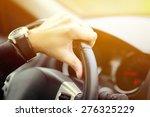 man driving car concept | Shutterstock . vector #276325229