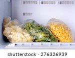 Frozen Vegetables In Bags In...