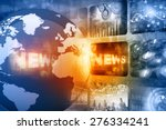 best design of global news   | Shutterstock . vector #276334241