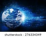Hi Tech Technological Background