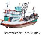 Fishing Boats In Southeast Asi...
