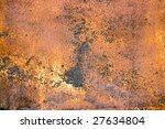 abstract rusty grunge metal... | Shutterstock . vector #27634804