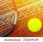 tennis concept | Shutterstock . vector #276349139