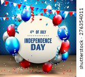 4th of july   independence day... | Shutterstock .eps vector #276354011