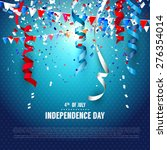 4th of july   independence day... | Shutterstock .eps vector #276354014