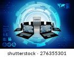 data network | Shutterstock . vector #276355301