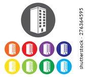 building vector icon set | Shutterstock .eps vector #276364595