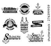 template design monochrome logo ... | Shutterstock .eps vector #276399959