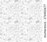 vector illustration doodle... | Shutterstock .eps vector #276402677