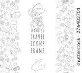 vector illustration doodle... | Shutterstock .eps vector #276402701