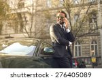 self confident businessman | Shutterstock . vector #276405089