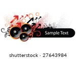 music element. too see more... | Shutterstock .eps vector #27643984