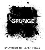 grunge background texture . | Shutterstock .eps vector #276444611