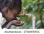 clean fresh water scarcity... | Shutterstock . vector #276445451