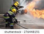 firefighters in action | Shutterstock . vector #276448151