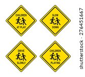 Children At Play Traffic Sign...