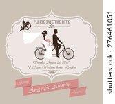 wedding invitation  the bride...   Shutterstock .eps vector #276461051