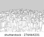 big city vector | Shutterstock .eps vector #276464231