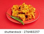 vegetable pakora or onion...   Shutterstock . vector #276483257